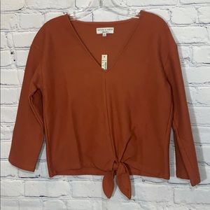 NWT Madewell | knot top